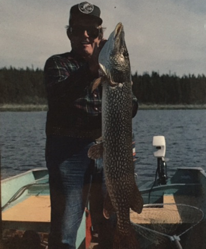 Babe Winkleman Northern pike fishing Saskatchewan