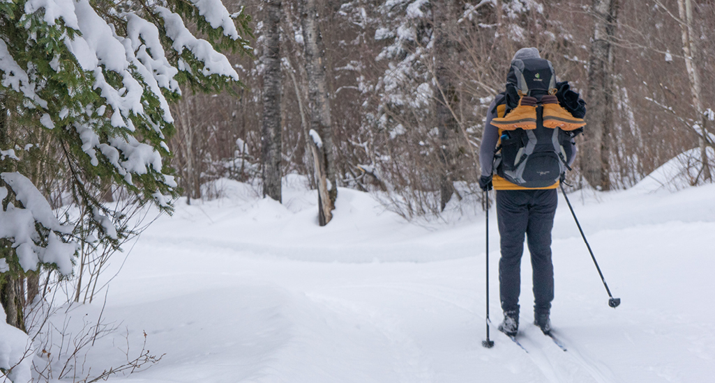 cross-country skiing duck mountain provincial park