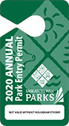 2020 Annual Park Entry Permit