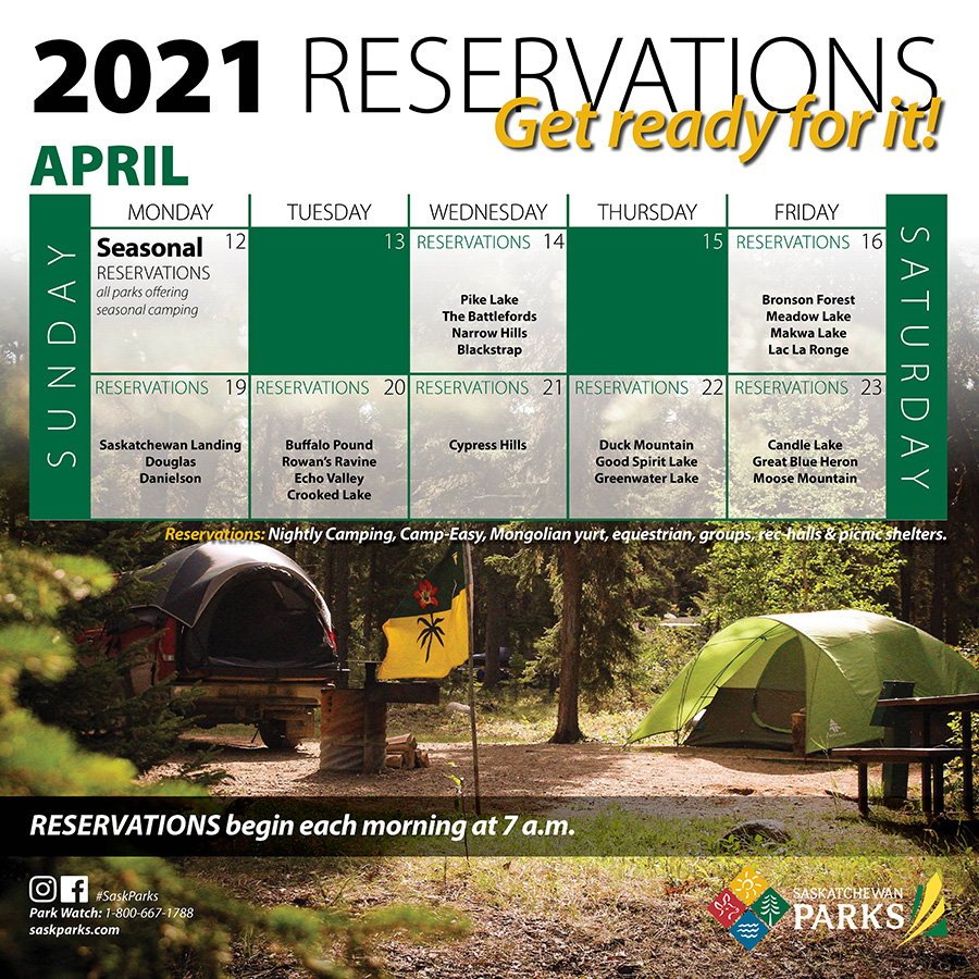 Campsite Reservation Launch