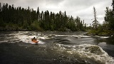 kayaking Churchill River