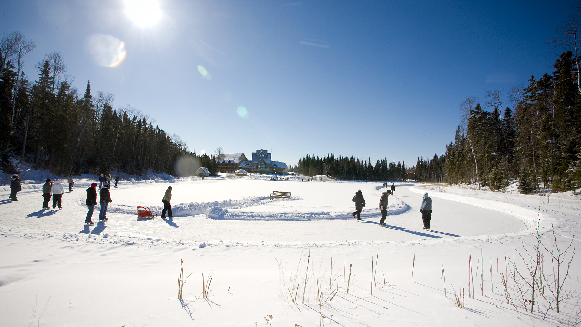 Winter in Prince Albert National Park