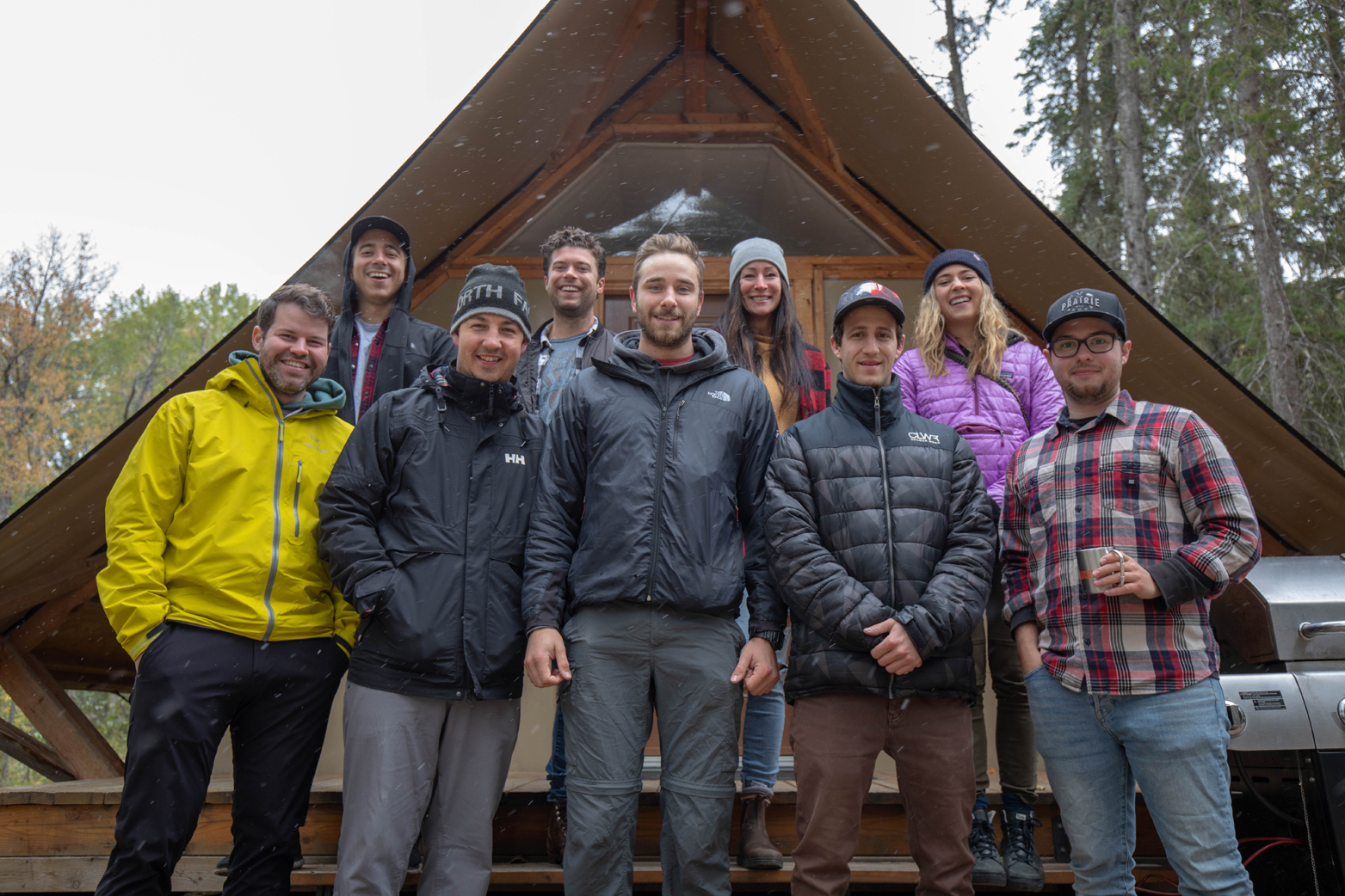 Influencers trip group photo Prince Albert National Park September 2018