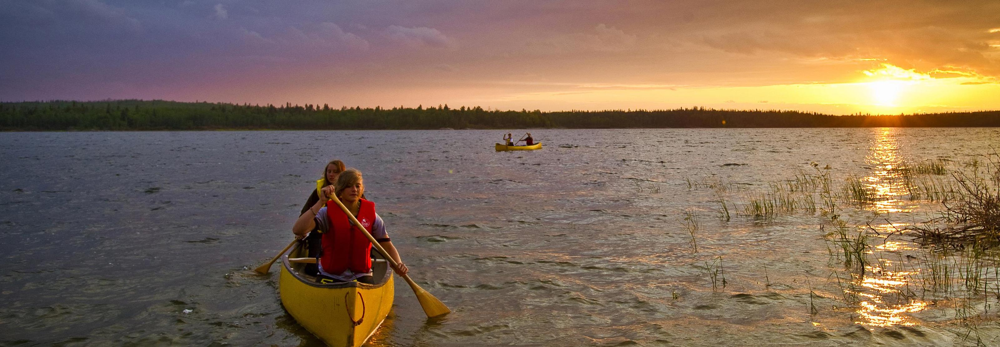 Churchill River Canoeing