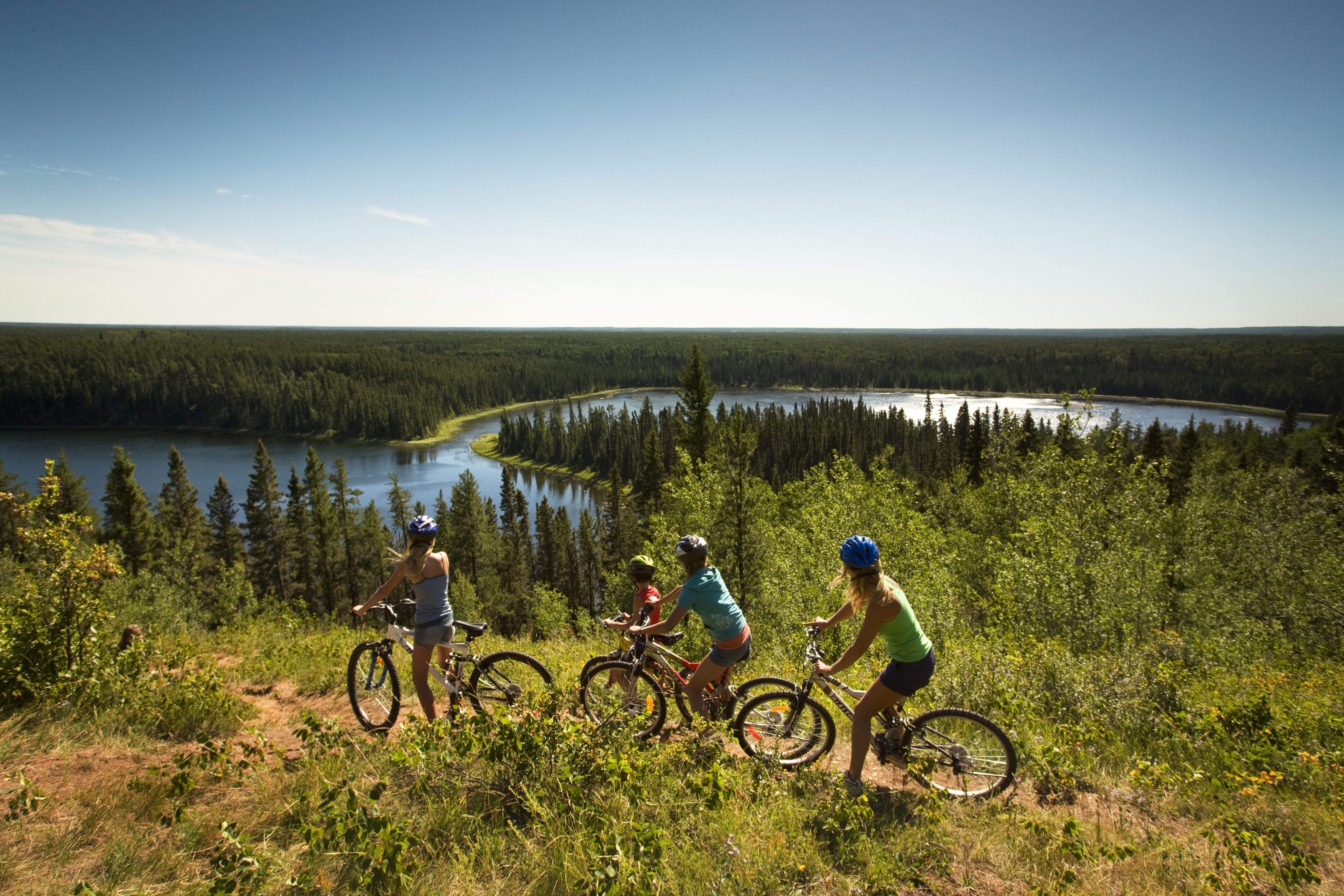 Narrow Hills Provincial Park Cycling Biking