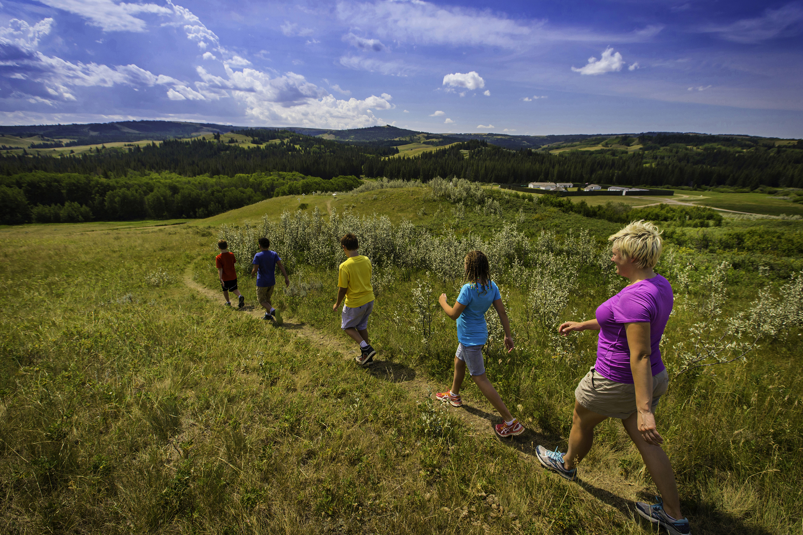 Cypress Hills Fort Walsh National Historic Site Hiking Trails